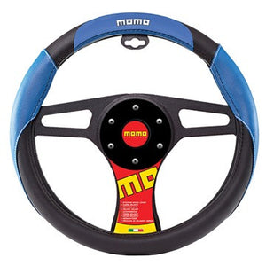 Momo Steering Wheel Cover Blue/Black/White