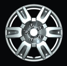 "Load image into Gallery viewer, Set Of 4 16"" Silver Lacquer Wheel Covers"