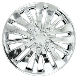 "Set Of 4 16"" Chrome Wheel Covers"