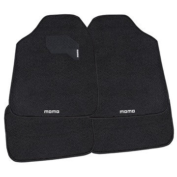 Momo Floor Mats  Black 4 Piece Set