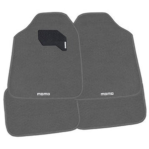 Momo Floor Mats Grey 4 Piece