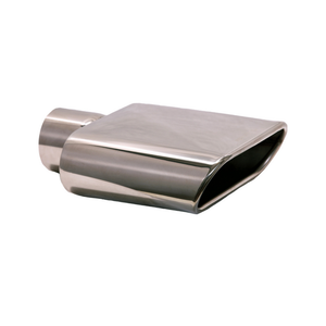 Wide Oval Rolled Edge Stainless Steel Tip