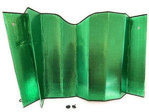 "Sunshades PME 10.240 Green / Silver Backing  27"" X 67"""