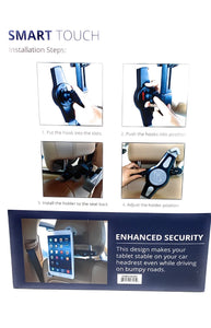 Smart Touch Tablet Holder for Seat HS 08.005