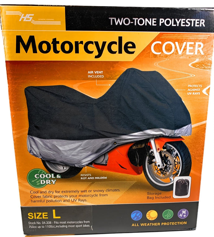 Motor Cycle Cover Large HS 04.308