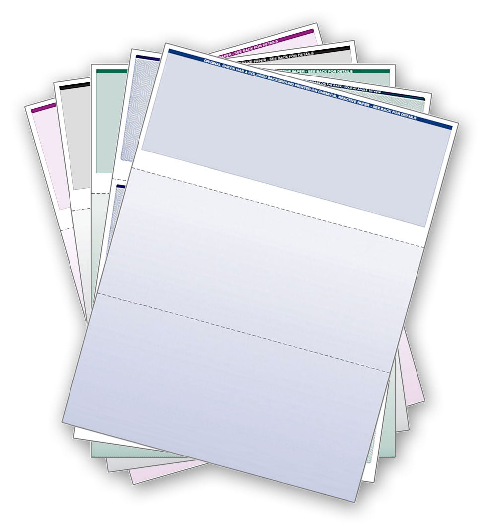 business check paper Our checks are printed on industry-standard 24 lb check bond paper and are certified to work in the our lower-cost our value check paper does not include the prismatic fade, but is still loaded with a.