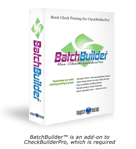 BatchBuilder - Add-On Module