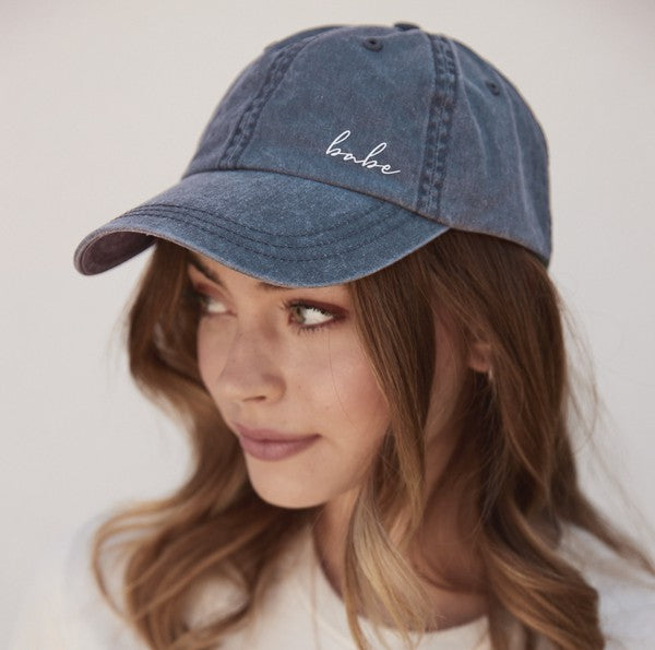 Babe Embroidered Cap