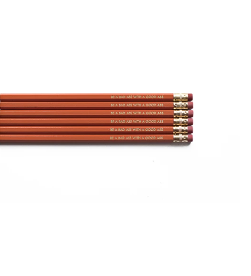 Tiramisu Snarky Pencils - Be a Badass with a Goodass