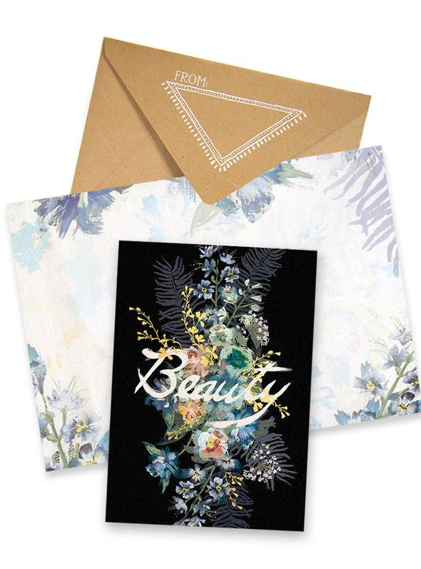 Greeting Card - Beauty Boquet