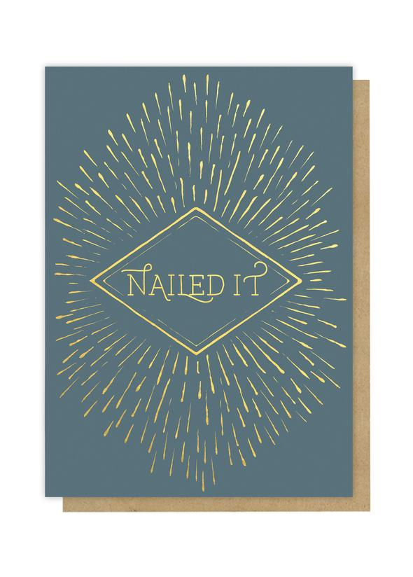 Greeting Card - Nailed It