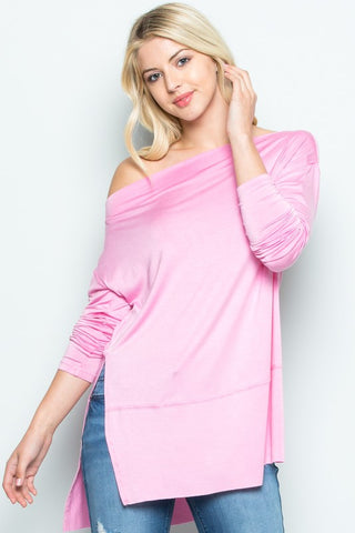 Hot Soft ribbed knit material allover