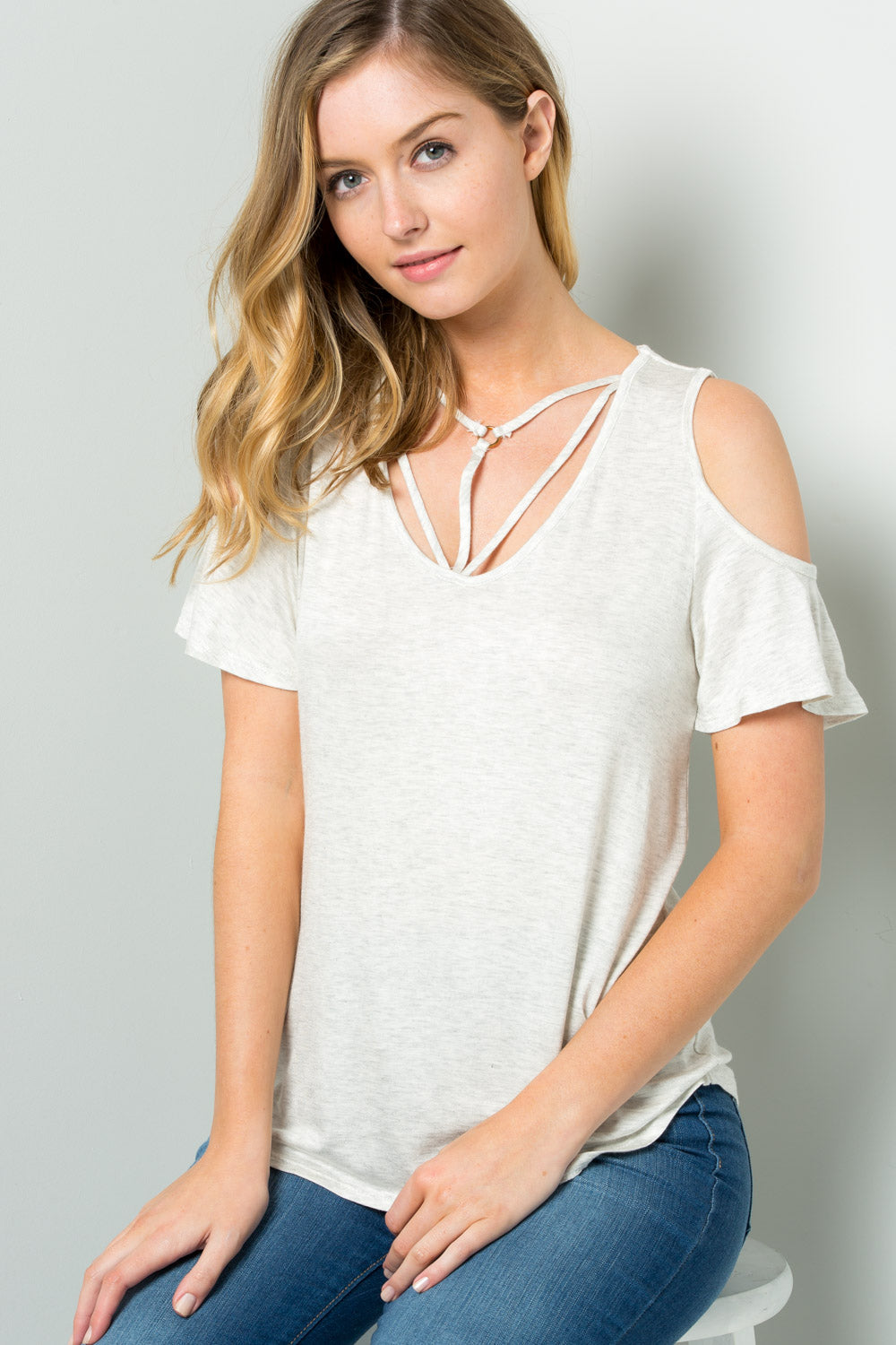 Criss Cross Basic Top