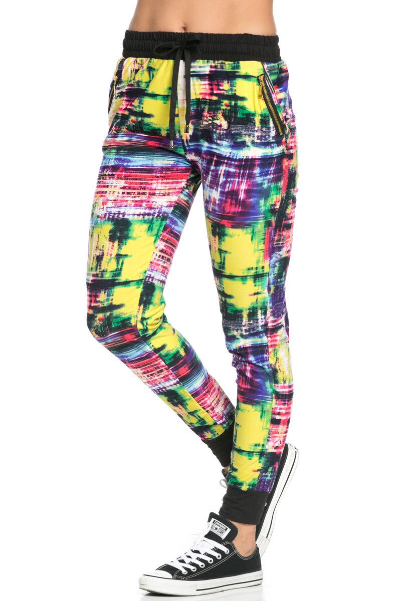 Digital Colors Jogger Pants Multi - Jogger Pants - My Yuccie - 3