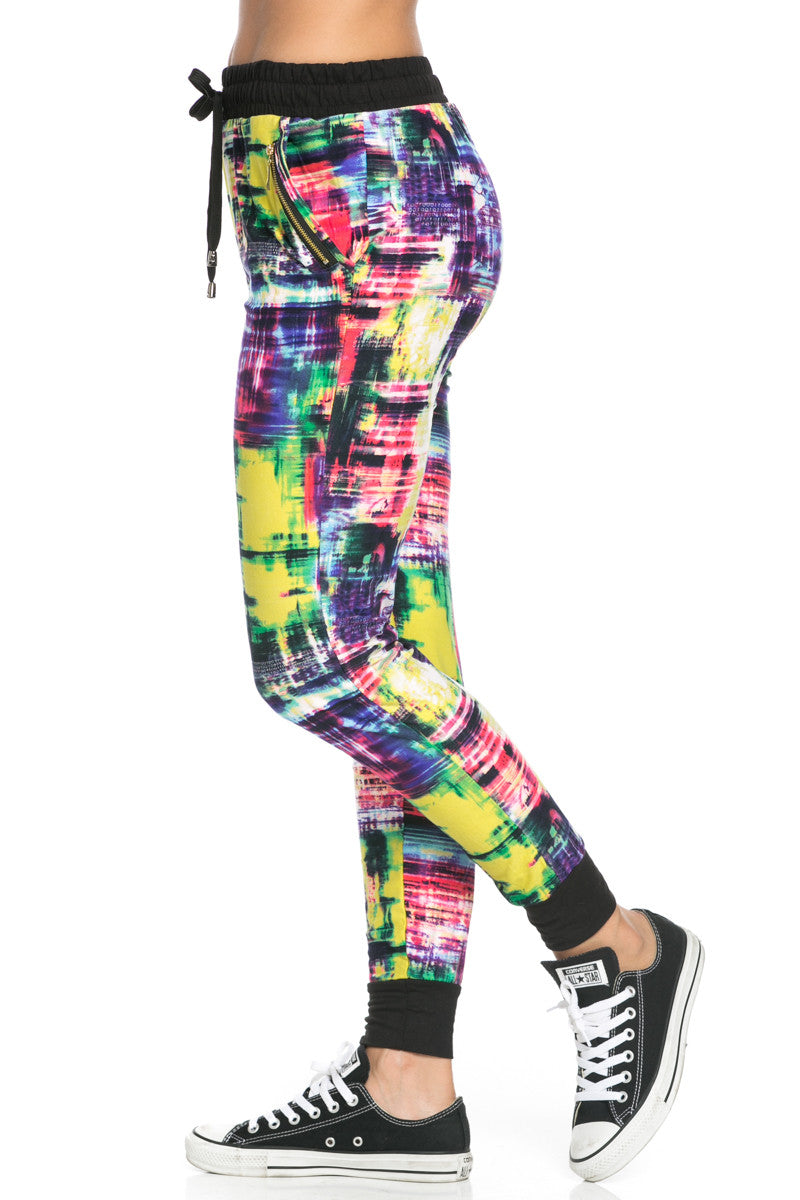 Digital Colors Jogger Pants Multi - Jogger Pants - My Yuccie - 4