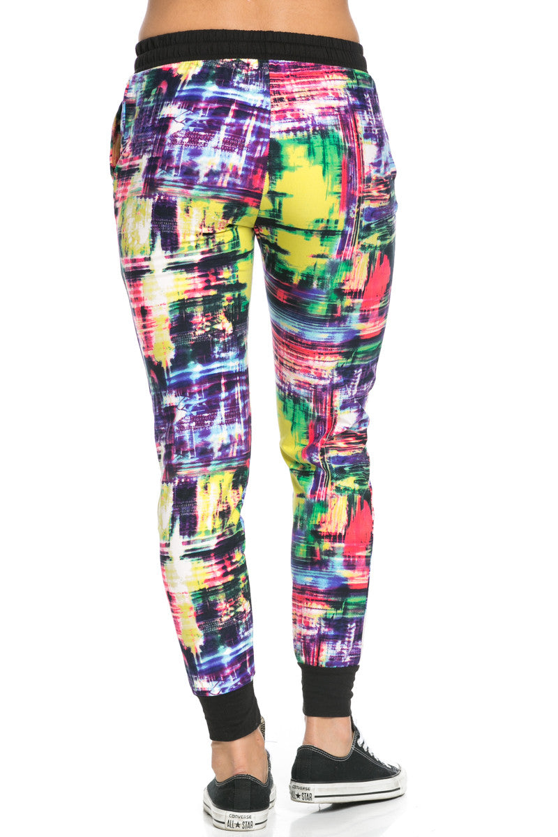 Digital Colors Jogger Pants Multi - Jogger Pants - My Yuccie - 5