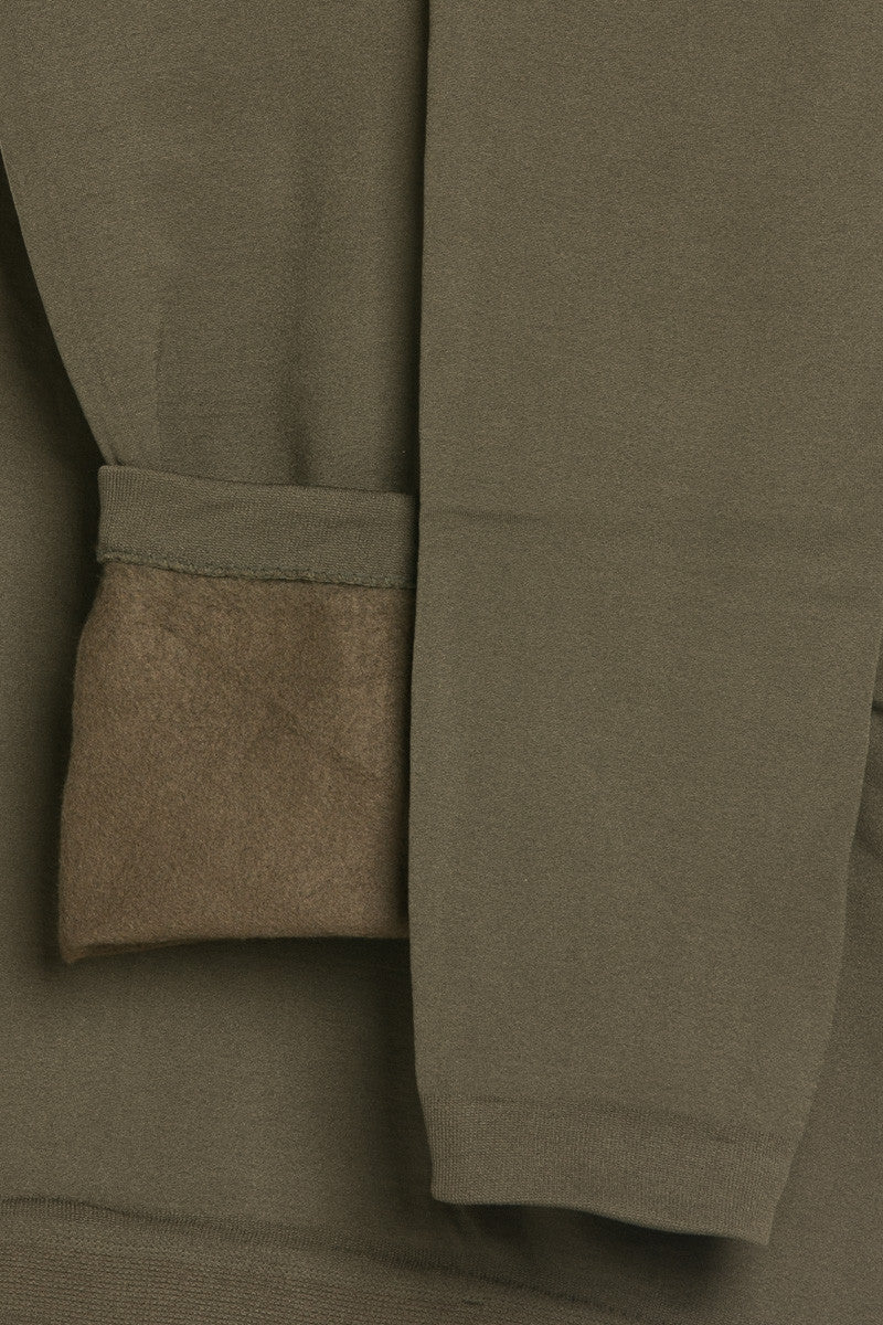 Fleece Lined Leggings Olive - Leggings - My Yuccie - 7