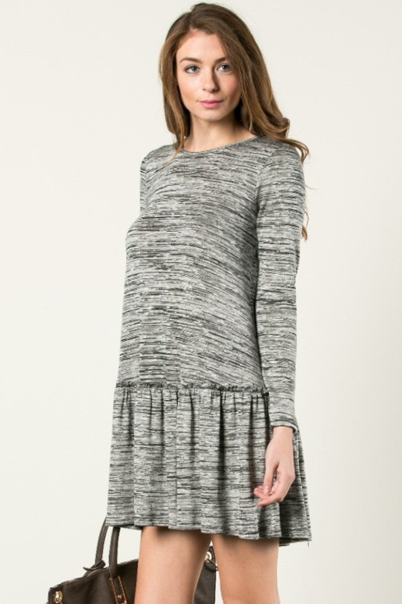 The Broomstick 2Tone Dress Charcoal - Dresses - My Yuccie - 2