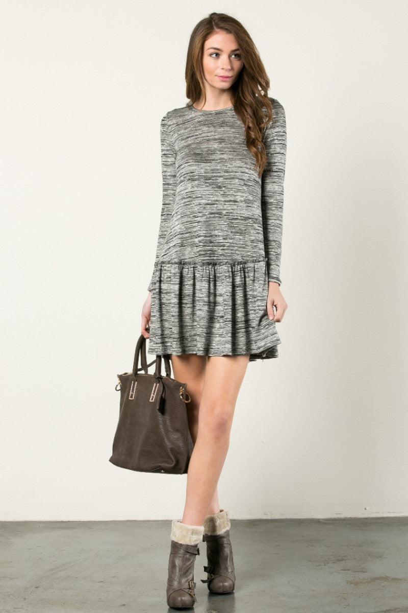 The Broomstick 2Tone Dress Charcoal - Dresses - My Yuccie - 4