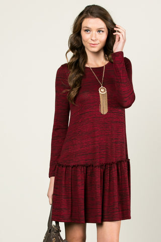The Broomstick 2Tone Dress Red - Dresses - My Yuccie - 1