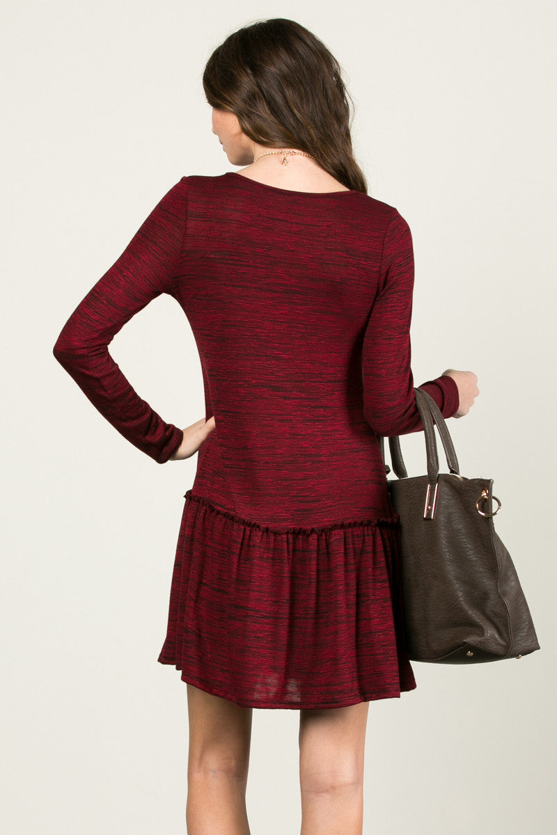 The Broomstick 2Tone Dress Red - Dresses - My Yuccie - 3