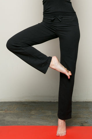 Casual Yoga Pants Black - Pants - My Yuccie - 1