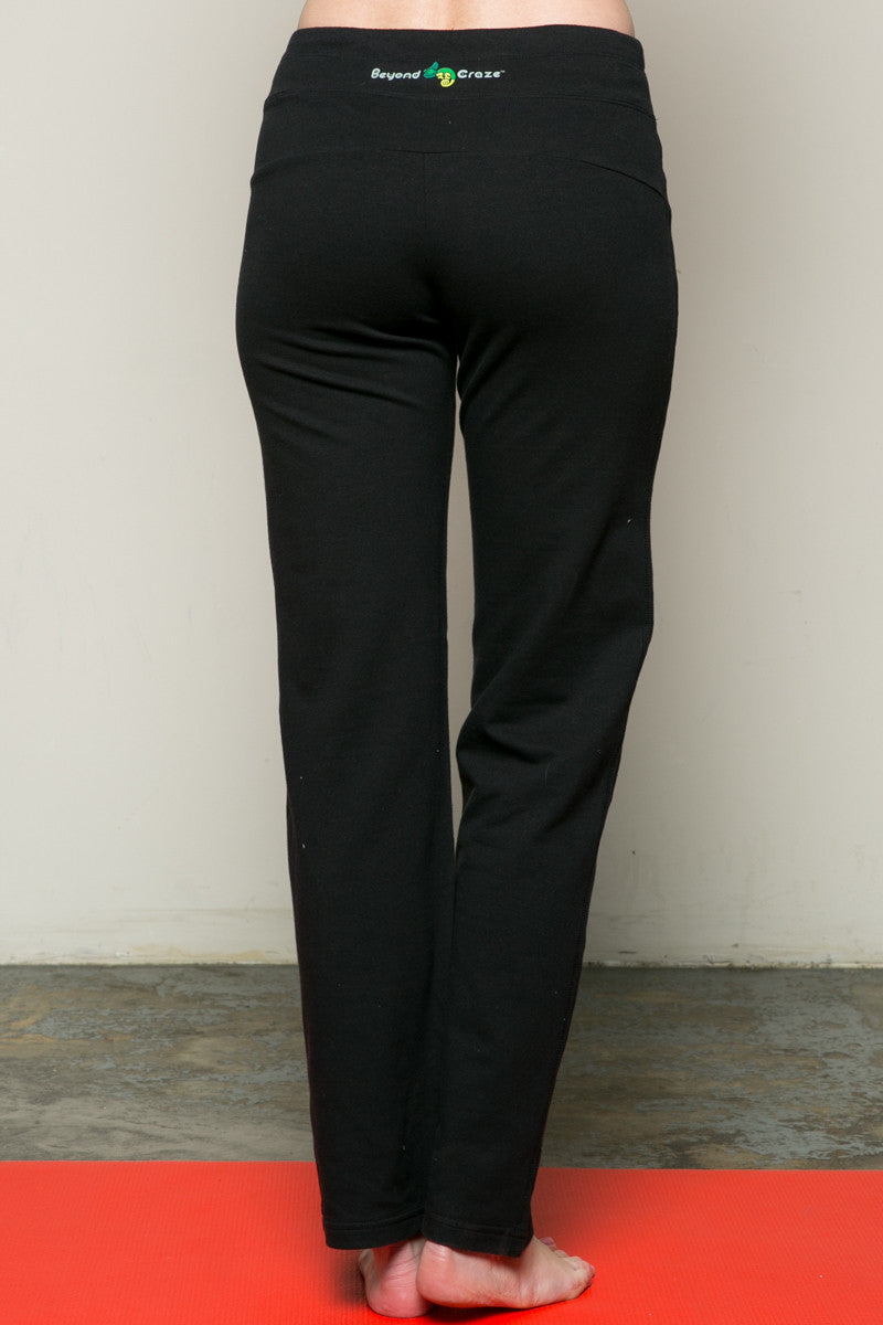 Casual Yoga Pants Black - Pants - My Yuccie - 4