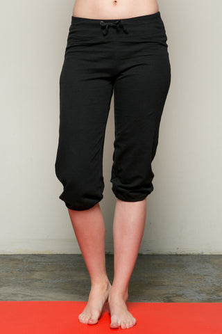 Casual Capri Yoga Pants Black - Pants - My Yuccie - 1