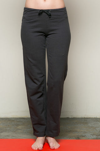 Casual Yoga Pants Charcoal - Pants - My Yuccie - 1