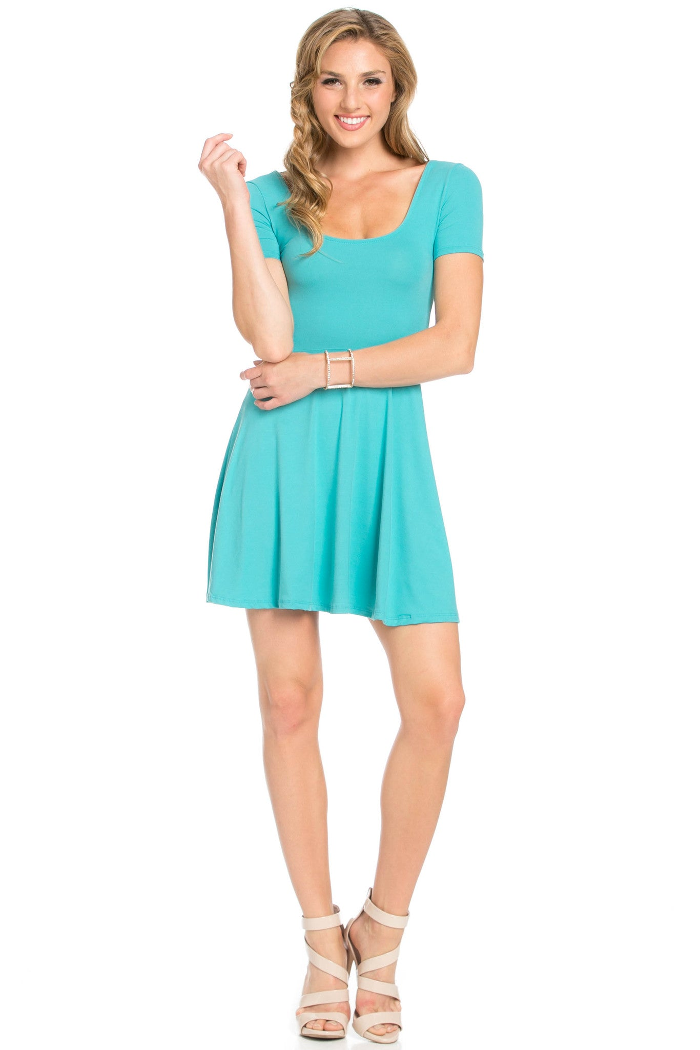 Micro Suede Jade Mini Dress - Dresses - My Yuccie - 5