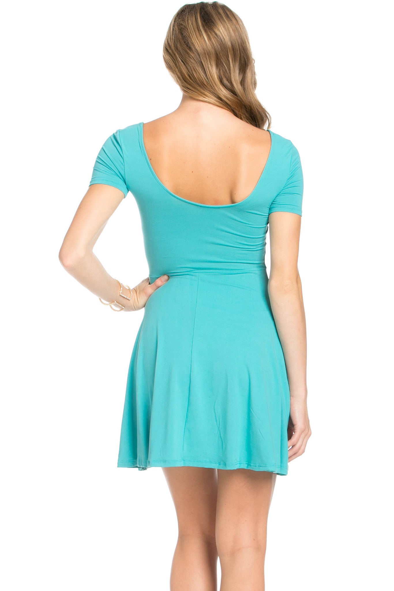 Micro Suede Jade Mini Dress - Dresses - My Yuccie - 3