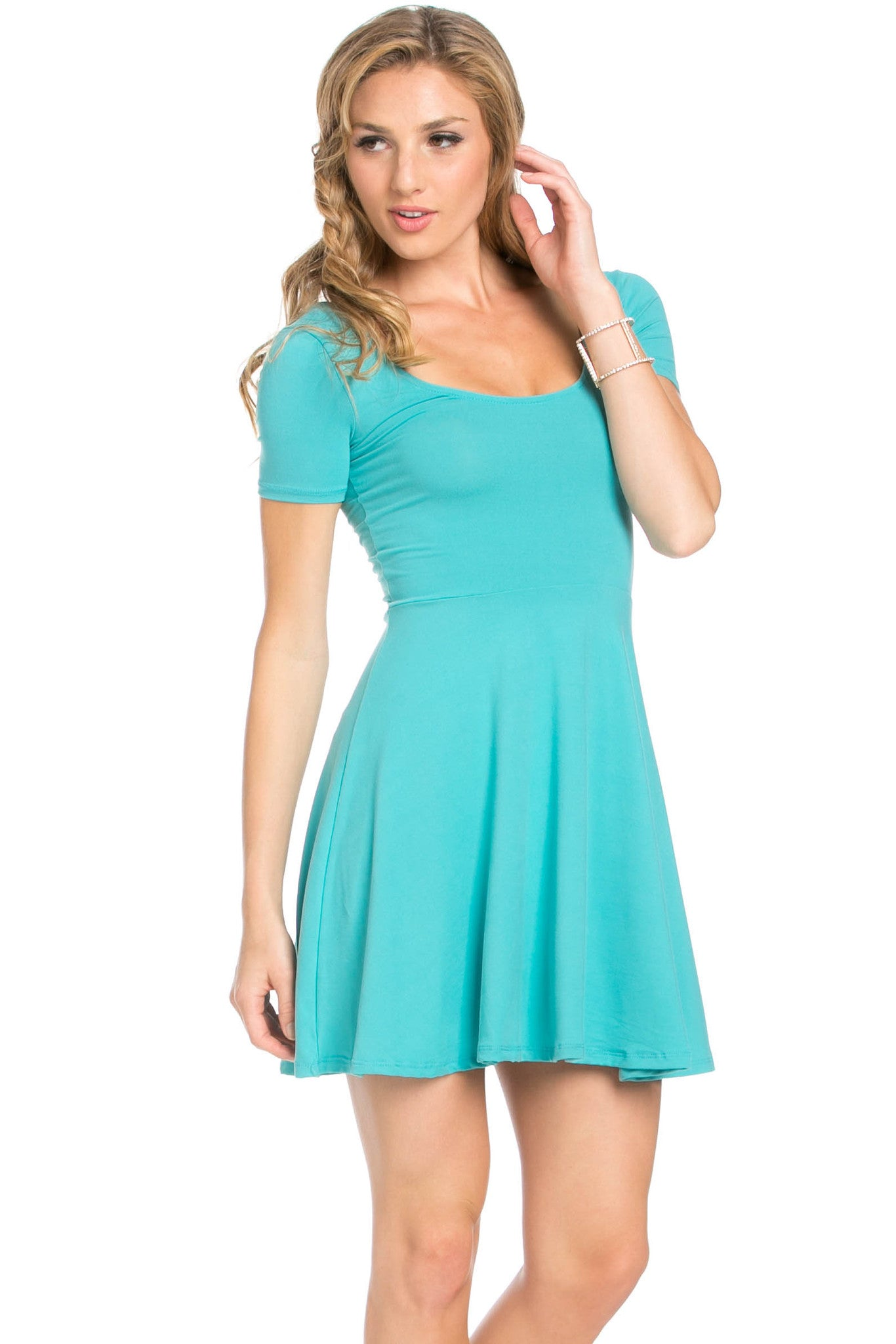 Micro Suede Jade Mini Dress - Dresses - My Yuccie - 4