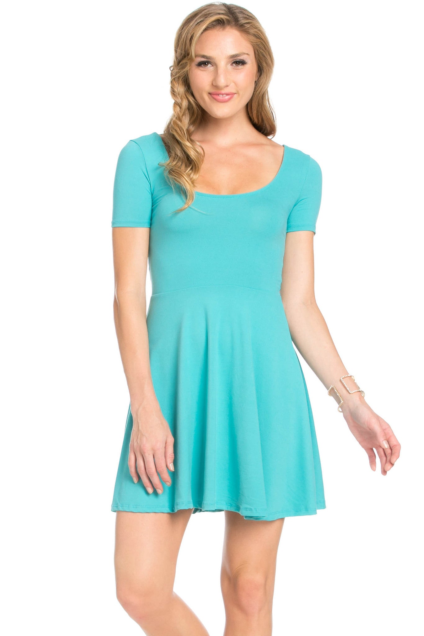 Micro Suede Jade Mini Dress - Dresses - My Yuccie - 2