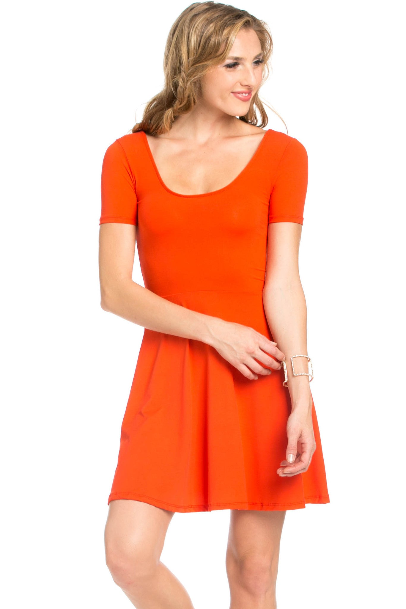 Micro Suede Tomato Mini Dress - Dresses - My Yuccie - 4