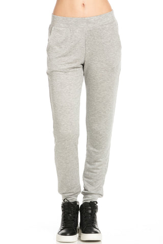 Lightweight Heather Grey Jogger Pants - Jogger Pants - My Yuccie - 1