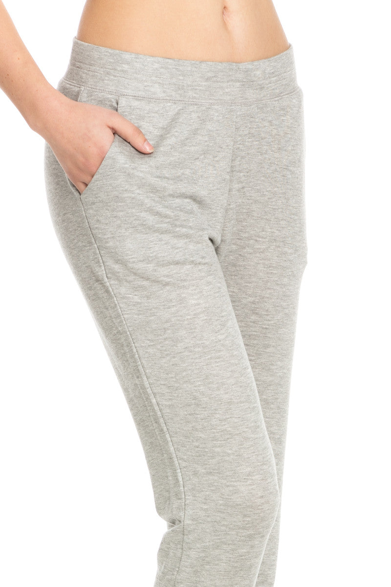 Lightweight Heather Grey Jogger Pants - Jogger Pants - My Yuccie - 5