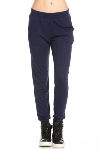 Lightweight Navy Jogger Pants - Jogger Pants - My Yuccie - 1