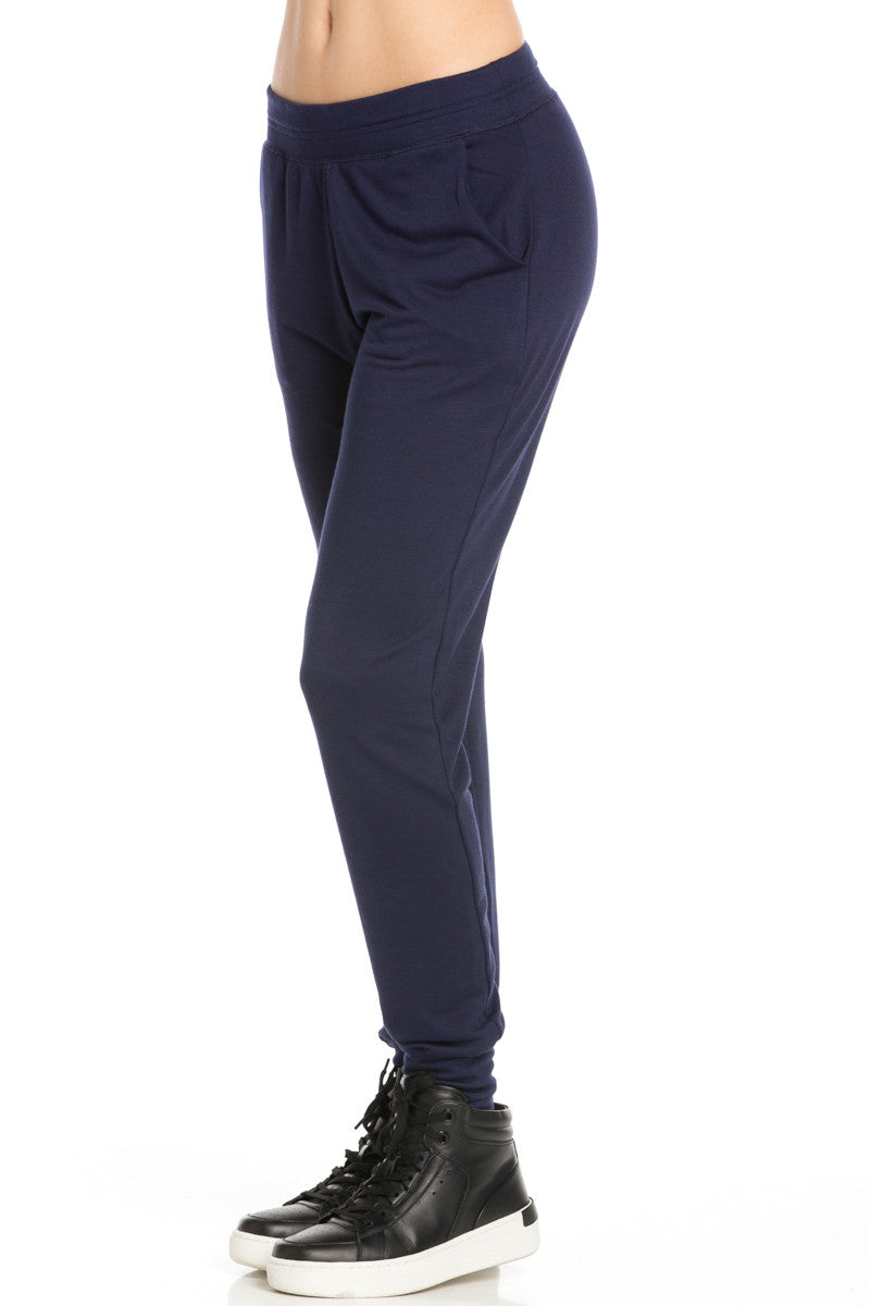 Lightweight Navy Jogger Pants - Jogger Pants - My Yuccie - 2
