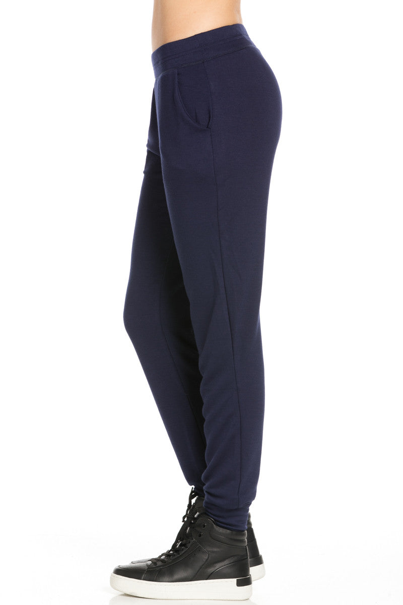 Lightweight Navy Jogger Pants - Jogger Pants - My Yuccie - 3