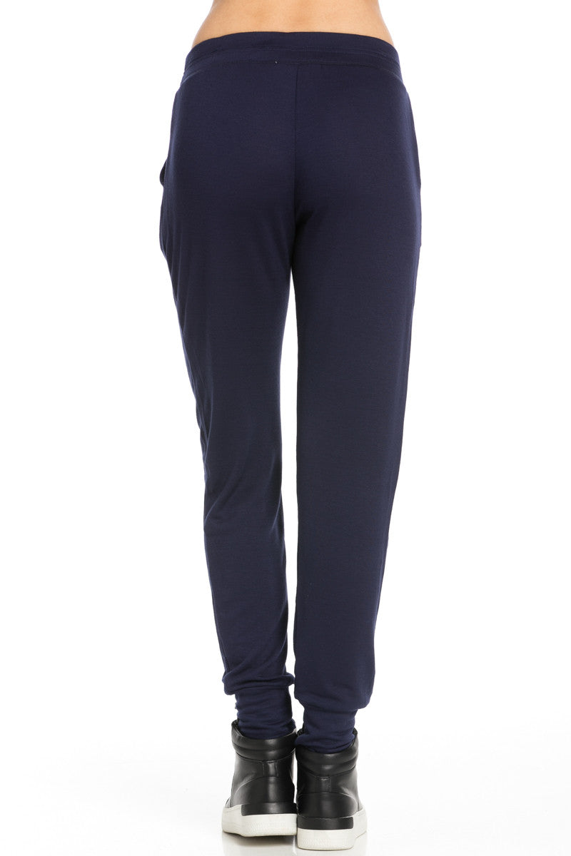 Lightweight Navy Jogger Pants - Jogger Pants - My Yuccie - 4