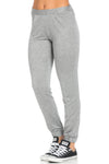 Lightweight Heather Grey Harem Joggers - Jogger Pants - My Yuccie - 2