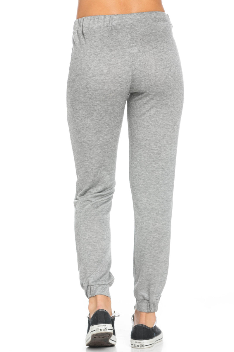 Lightweight Heather Grey Harem Joggers - Jogger Pants - My Yuccie - 4