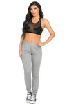 Lightweight Heather Grey Harem Joggers - Jogger Pants - My Yuccie - 8