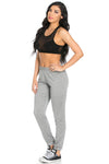 Lightweight Heather Grey Harem Joggers - Jogger Pants - My Yuccie - 9