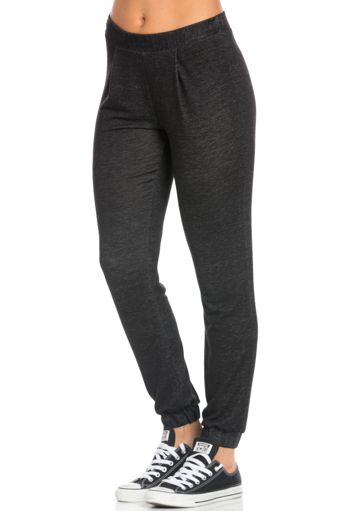 Lightweight Salt Pepper Harem Joggers - Jogger Pants - My Yuccie - 2