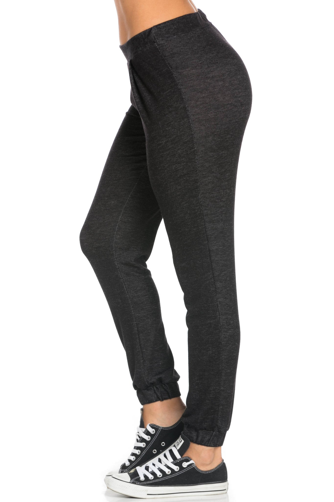 Lightweight Salt Pepper Harem Joggers - Jogger Pants - My Yuccie - 3
