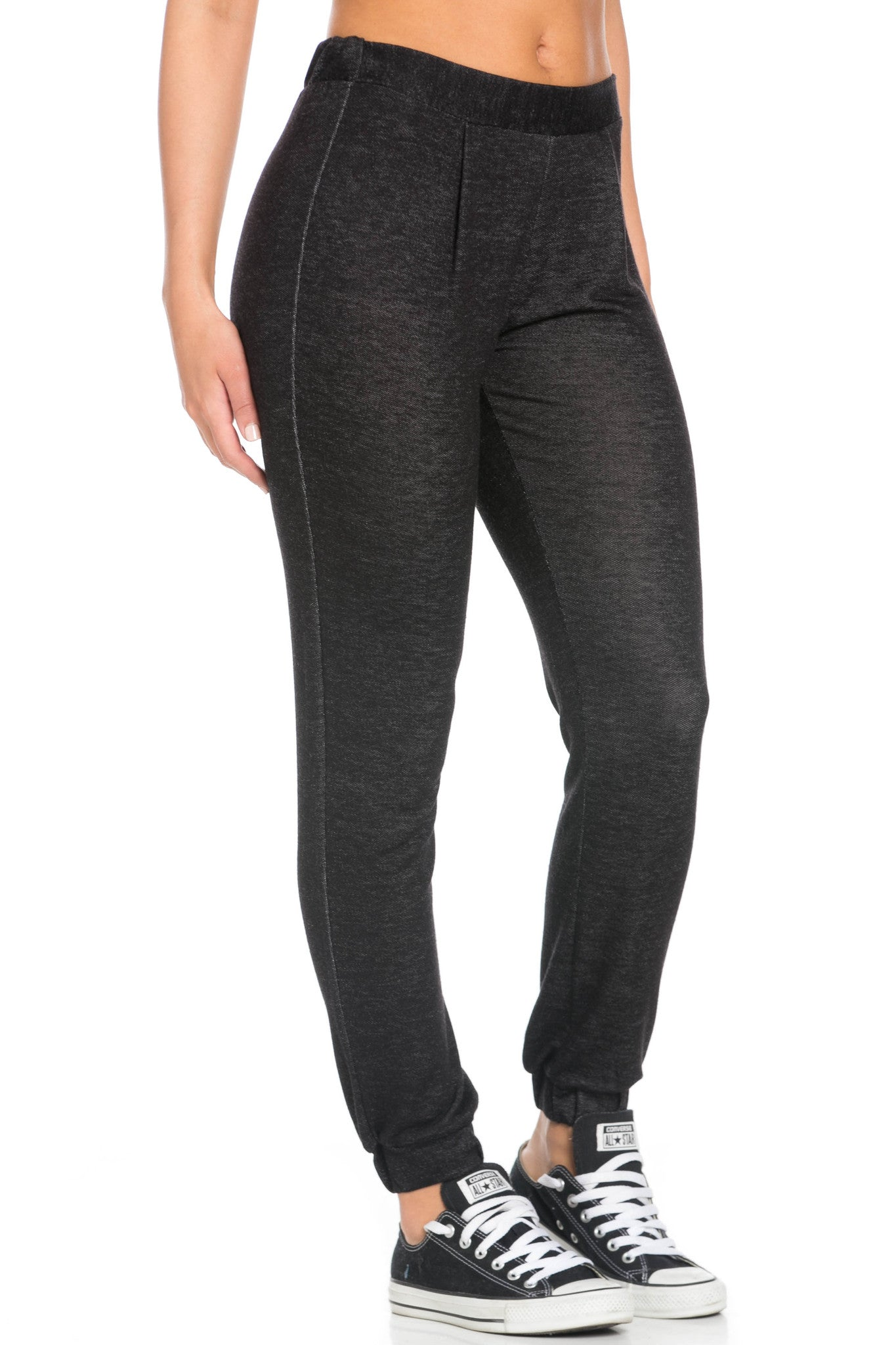 Lightweight Salt Pepper Harem Joggers - Jogger Pants - My Yuccie - 5