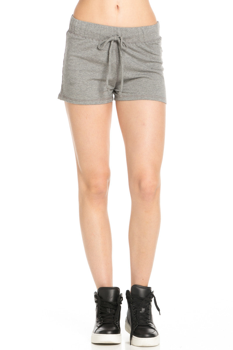 Casual Knit Shorts Heather Grey - Shorts - My Yuccie - 2