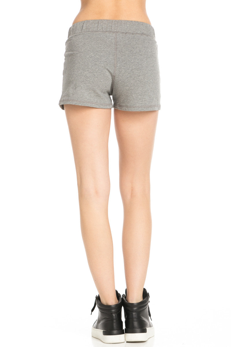 Casual Knit Shorts Heather Grey - Shorts - My Yuccie - 4