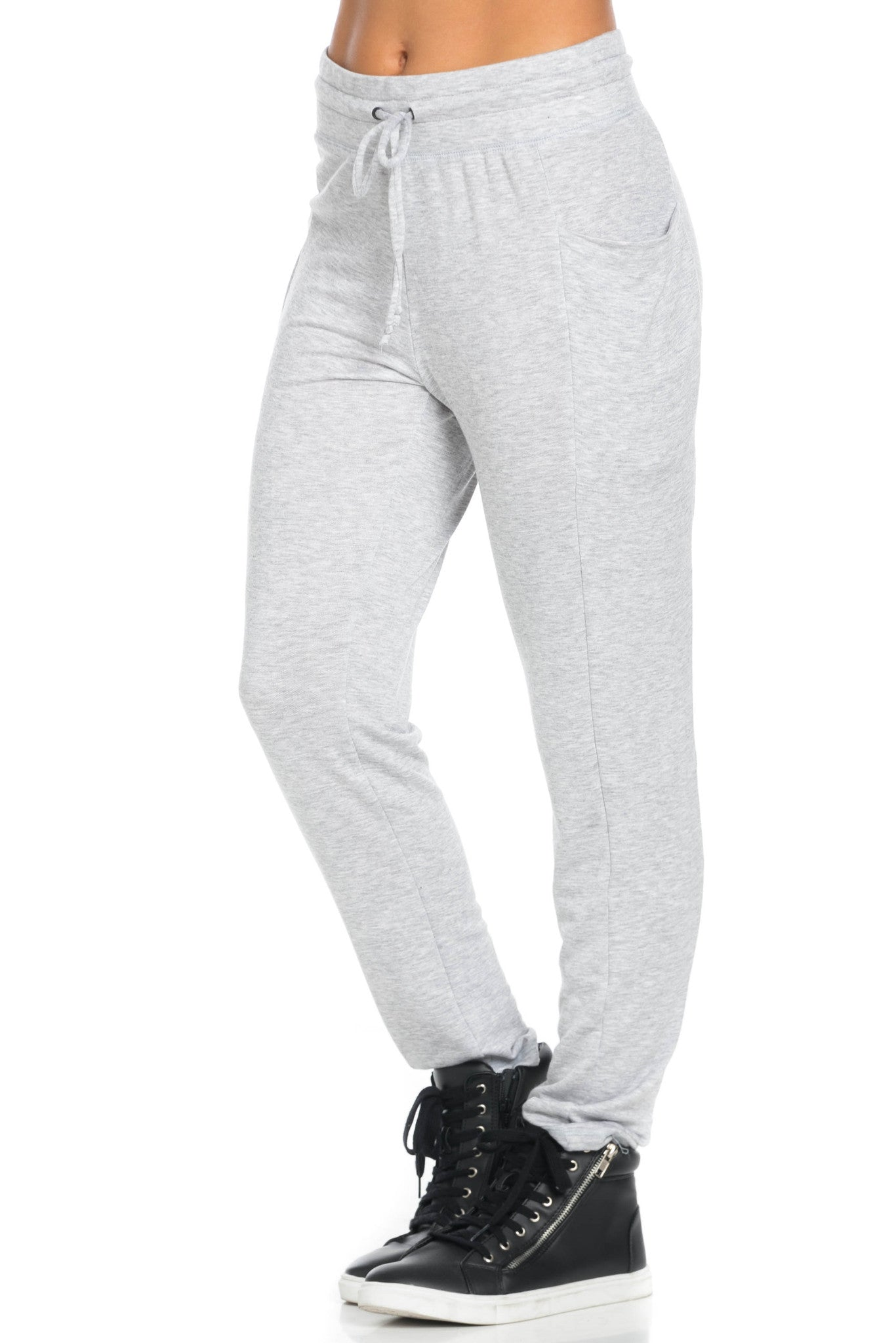Heather Grey Harem Pants - Pants - My Yuccie - 4